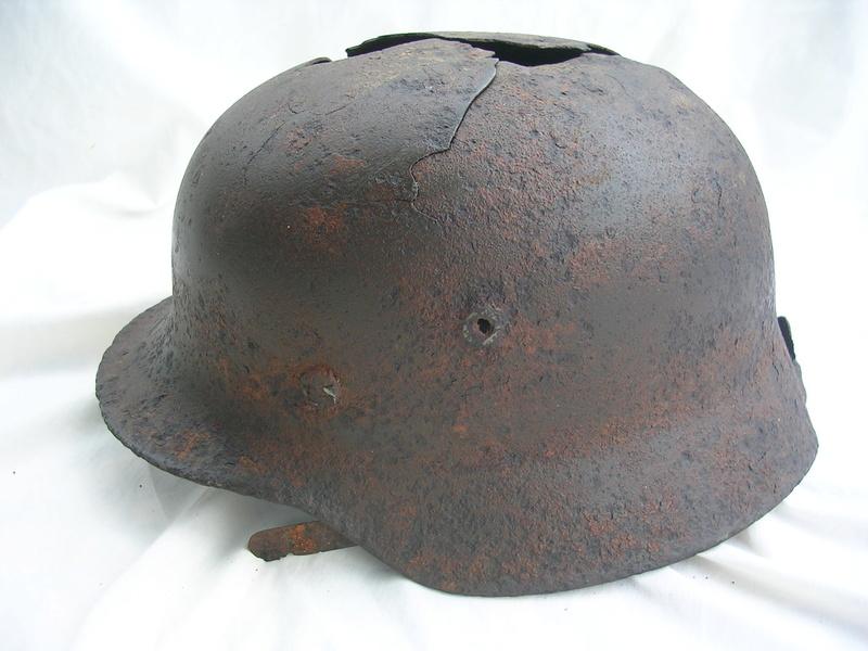 épave casque waffen de fouille Dscn7413