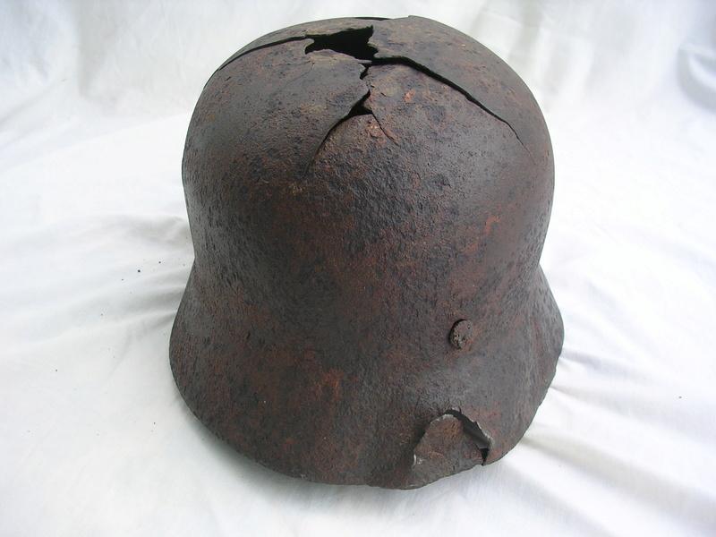 épave casque waffen de fouille Dscn7415