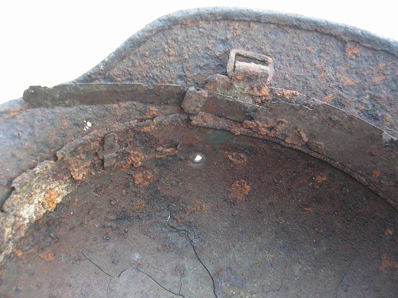 épave casque waffen de fouille Dscn7417