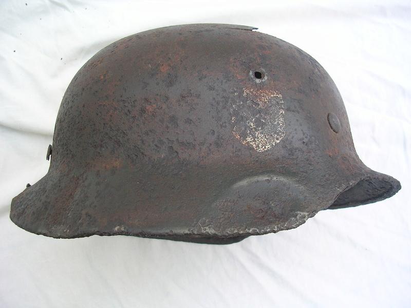 épave casque waffen de fouille Dscn7418