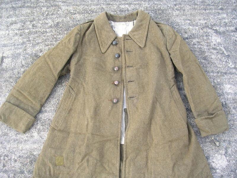 estimation capote m38 datée 1942 armée d'armistice Dscn8645