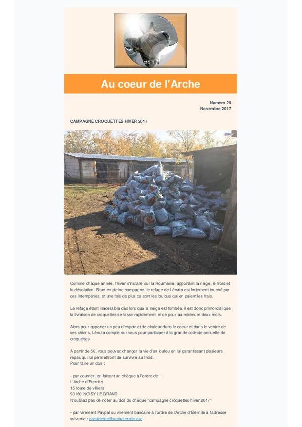 LA NEWSLETTER D'ETERNITE MENSUELLE Campag10