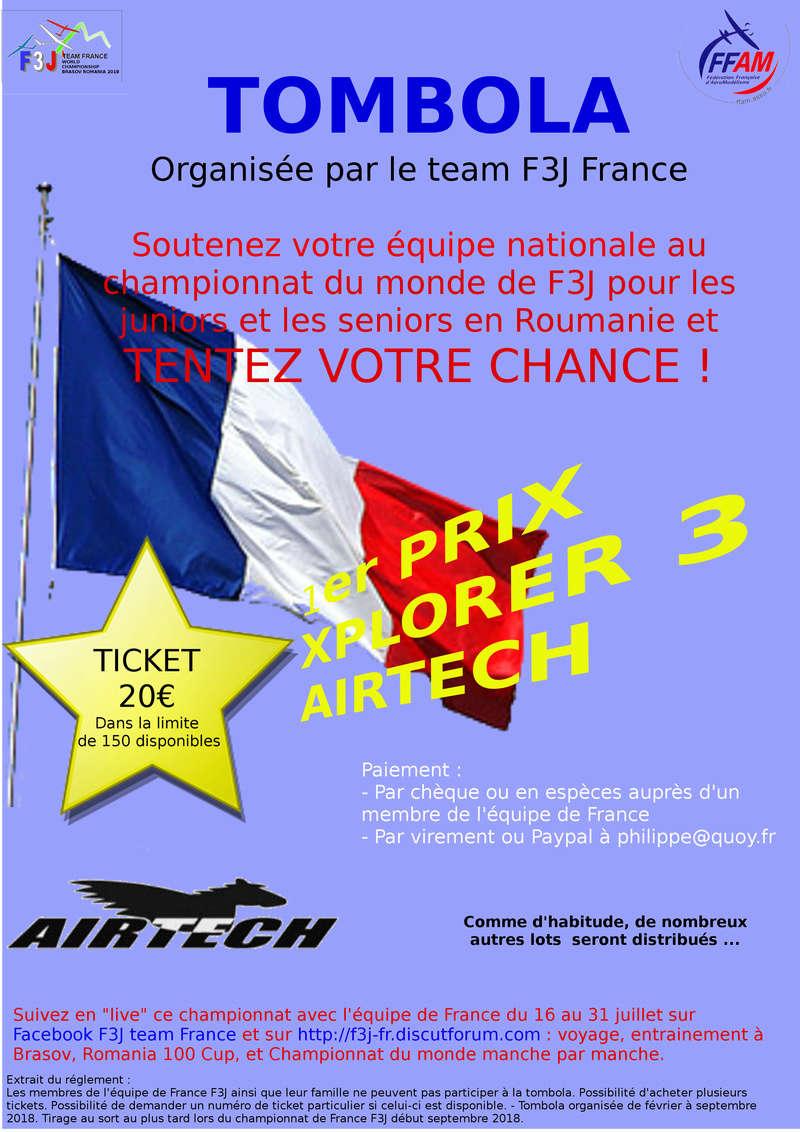 Tombola équipe de France F3J 2018 Affich13