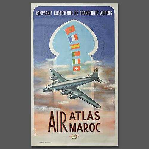 Air Atlas Air Maroc - 1953 à 1957 012