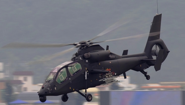 Z-19 light scout/attack helicopter 1044