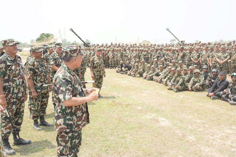 Armée Népalaise 1112