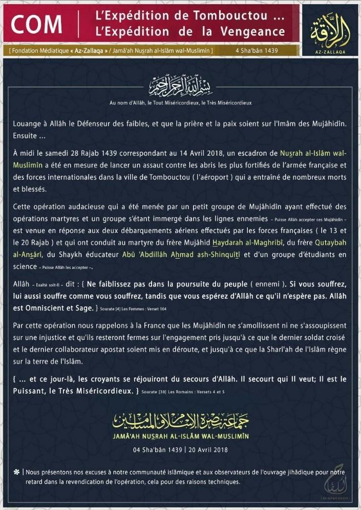 Intervention militaire au Mali - Opération Serval - Page 18 25932