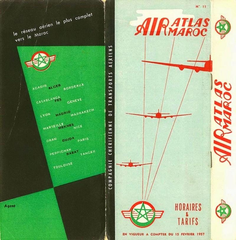 Air Atlas Air Maroc - 1953 à 1957 7024
