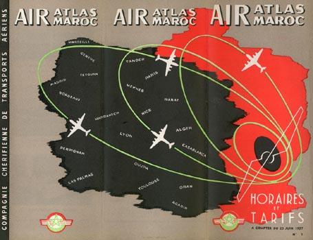 Air Atlas Air Maroc - 1953 à 1957 70a10