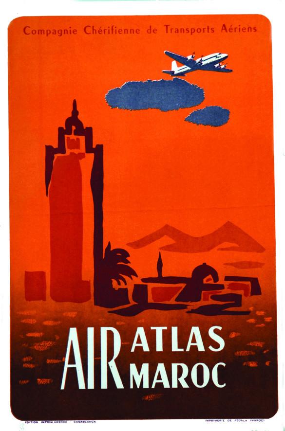 Air Atlas Air Maroc - 1953 à 1957 70e10