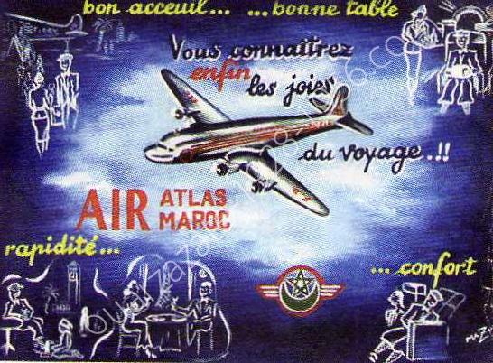 Air Atlas Air Maroc - 1953 à 1957 70f10