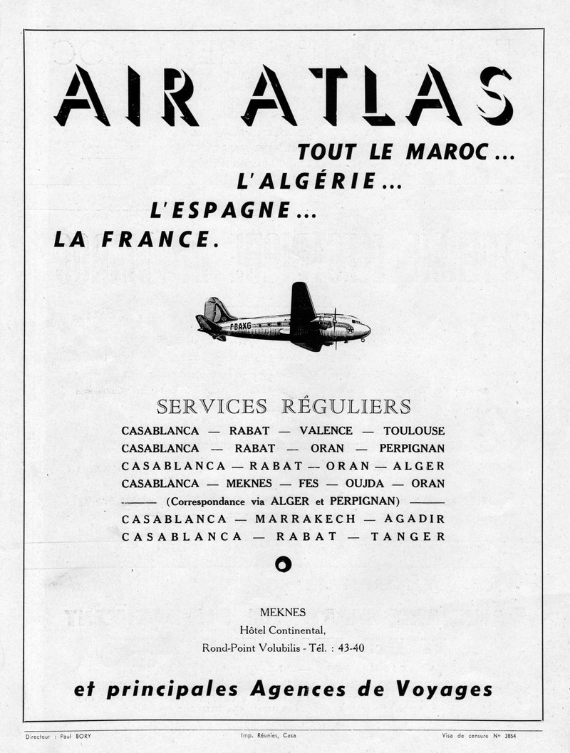 Air Atlas - 1946 à 1953 7529