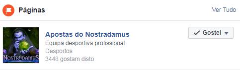 Nostradamus - Equipe de Apostas Desportivas Profissional Nostra12