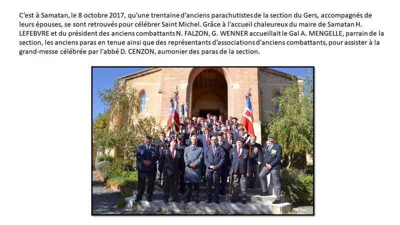 Saint Michel 2017 de la Section Gal André Mengelle à Samatan Unp_ge24