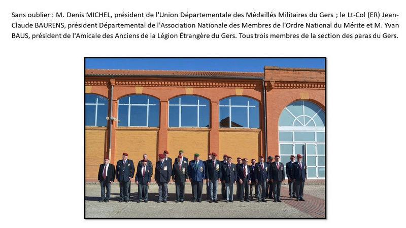Saint Michel 2017 de la Section Gal André Mengelle à Samatan Unp_ge25