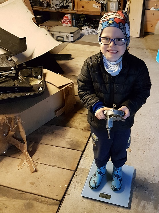 schnico's Spielzeugauto *Alter raus - Vorbereitungen für den Neuen* 20171010