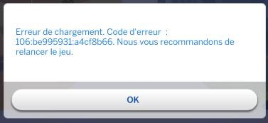 Code d'erreur Sans_t11