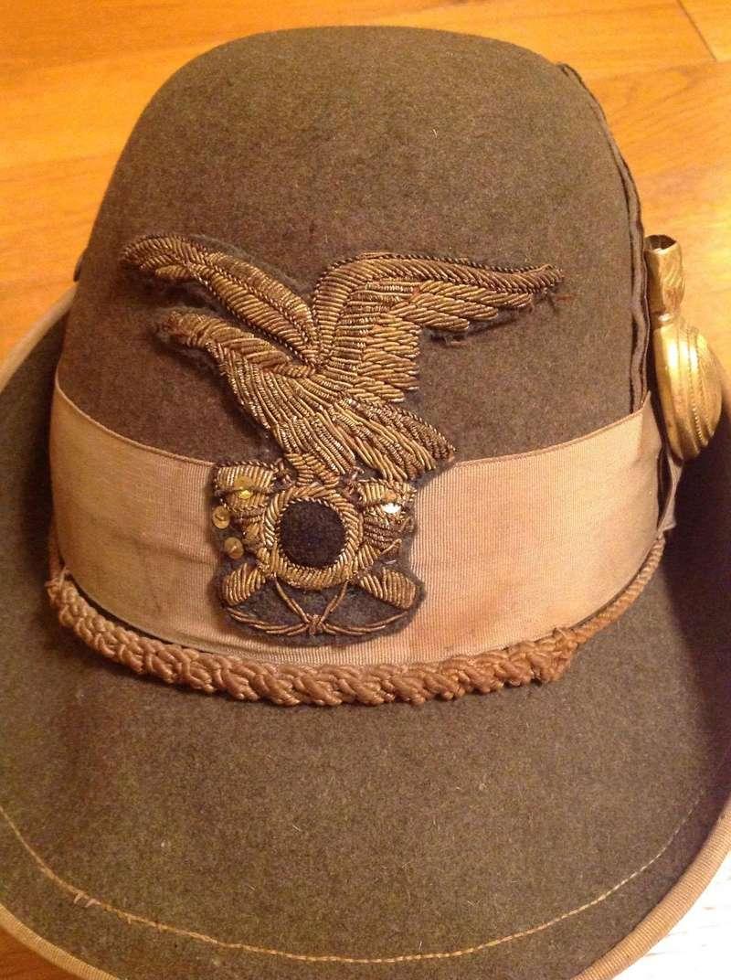 Chapeau d'Alpini Italien – WW1? WW2? 24259310