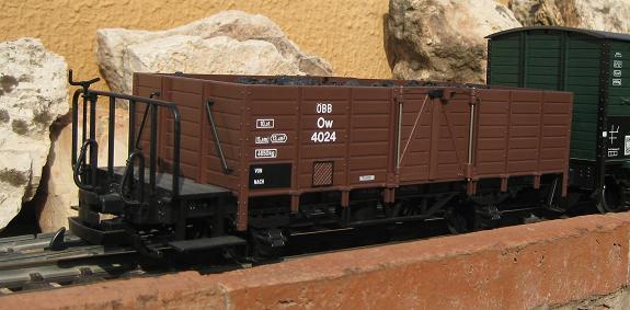Personalització vagó 4135 de LGB (vagó tancat, amb so de loc vapor) A14