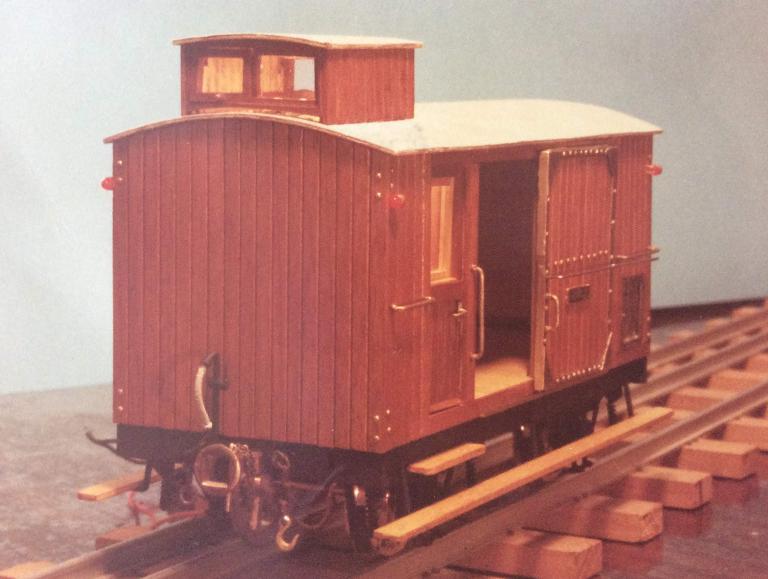 Furgo sèrie 1 a 6 del tren d'Olot A_1114