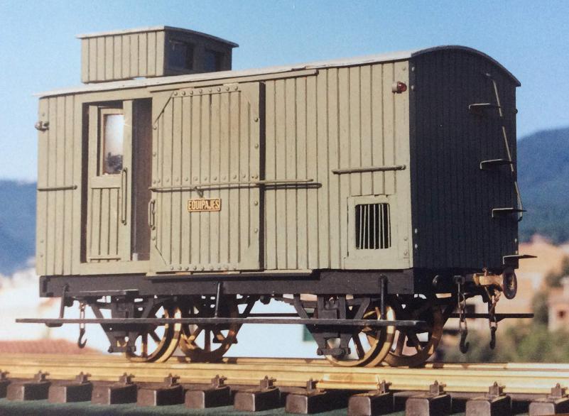 Furgo sèrie 1 a 6 del tren d'Olot A_119