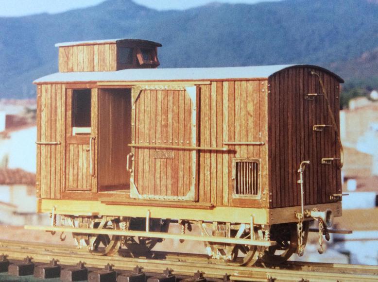 Furgo sèrie 1 a 6 del tren d'Olot A_418