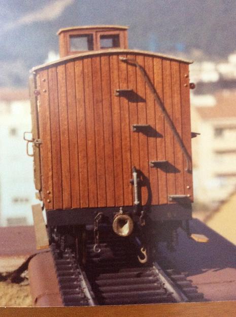 Furgo sèrie 1 a 6 del tren d'Olot A_818