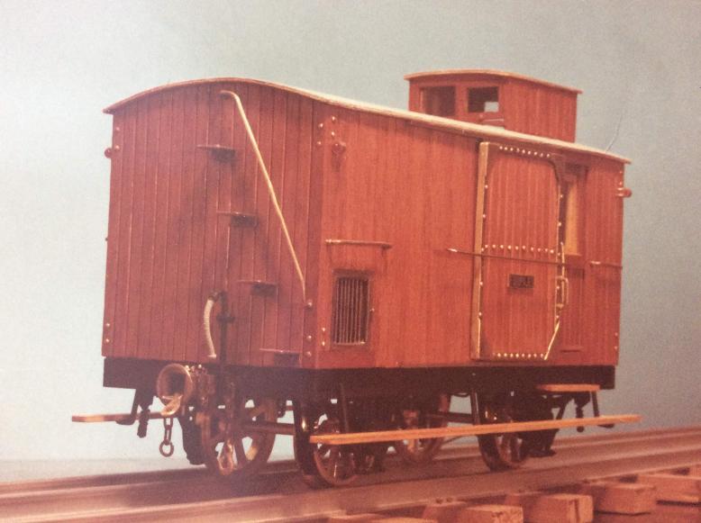 Furgo sèrie 1 a 6 del tren d'Olot A_917