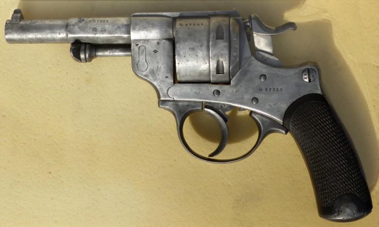 Restauration revolver 1873 G4736511