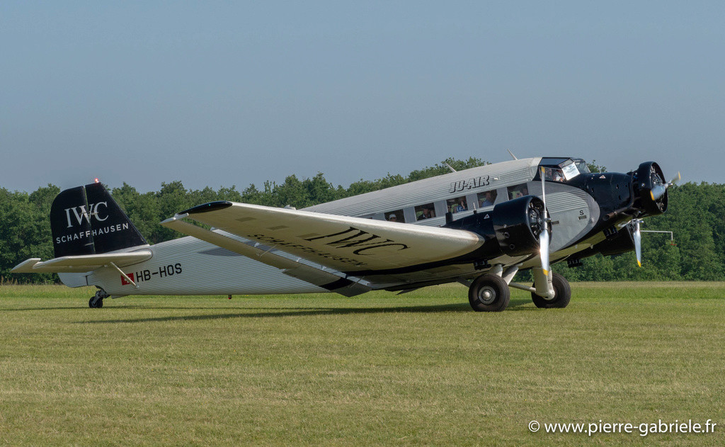 DEBRIEFING MEETING LA FERTE ALAIS 2018. - Page 3 Ju52-g11