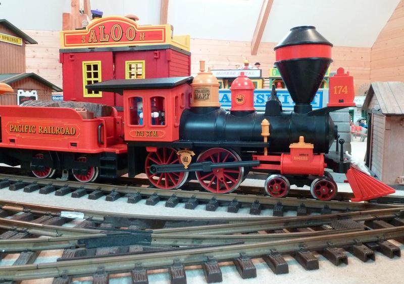 Playmobil / LGB les trains de jardin 12_p1010
