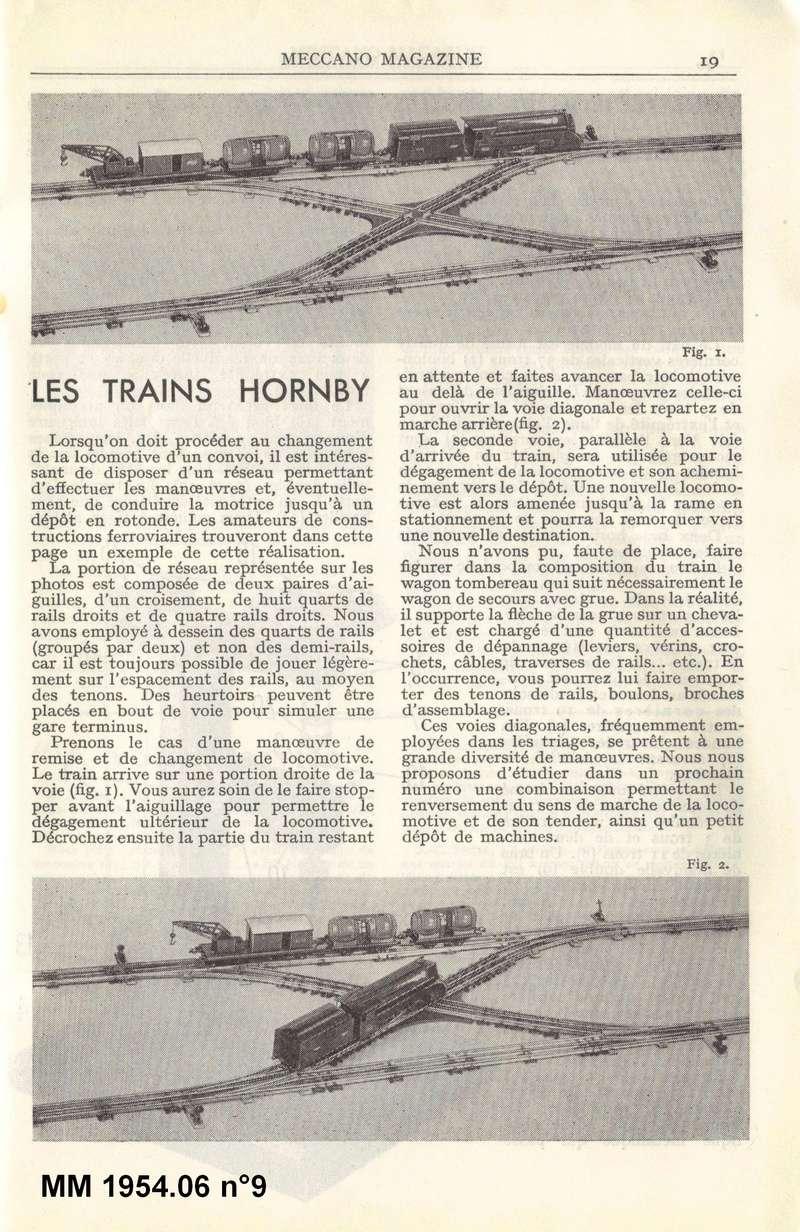 angles des croisements XOE obliques de JEP 1954-010