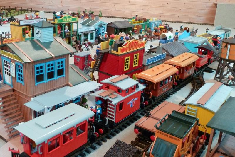Playmobil / LGB les trains de jardin 25_p1010
