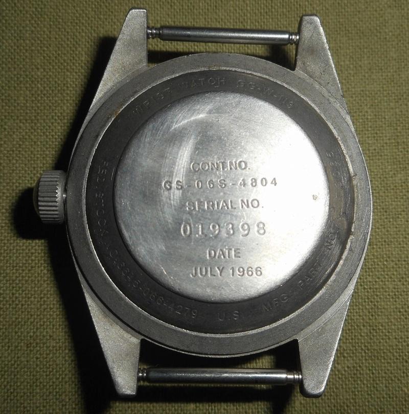 Votre avis sur cette Benrus military 1966 210