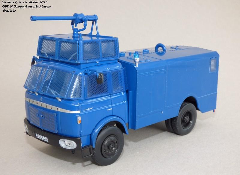 N°11 - GLK 80 1969 Fourgon pompe anti-émeute   Hache115