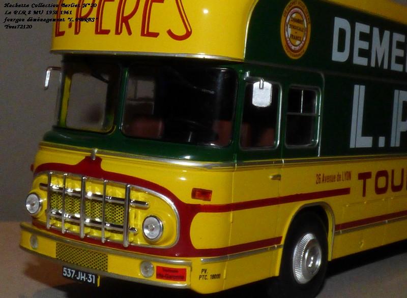 "N°20- Berliet PLR 8 MU Fourgon déménagement ""L.PERES"" 1958 / 1961 Hache138"