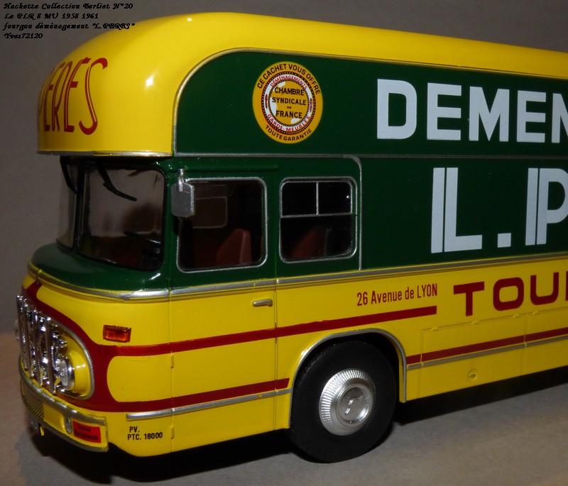 "N°20- Berliet PLR 8 MU Fourgon déménagement ""L.PERES"" 1958 / 1961 Hache139"