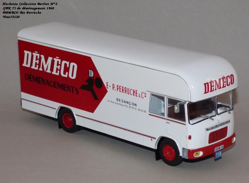 N°02 - Berliet GBK 75 Demenagement 1968 DEMECO Ets Perruche Hachet38