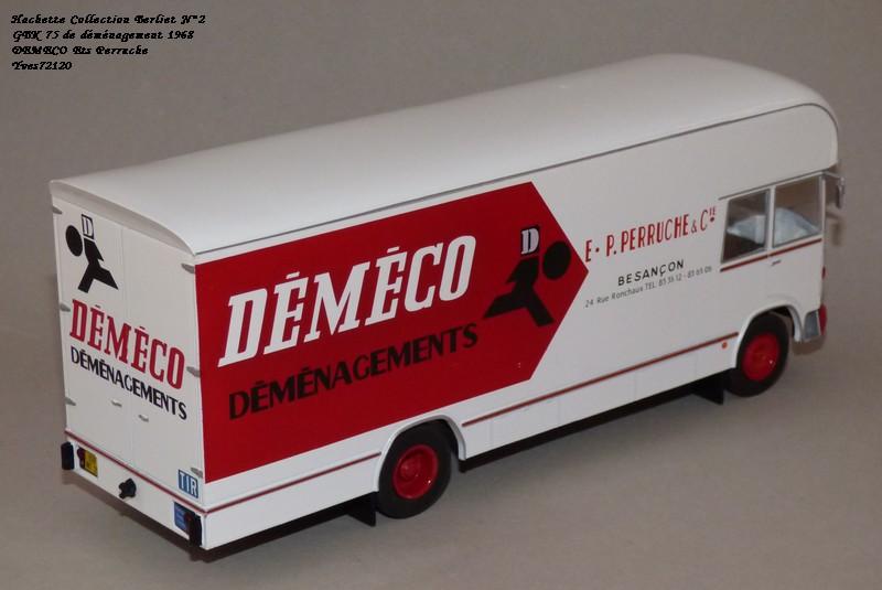N°02 - Berliet GBK 75 Demenagement 1968 DEMECO Ets Perruche Hachet39