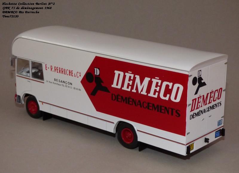 N°02 - Berliet GBK 75 Demenagement 1968 DEMECO Ets Perruche Hachet40