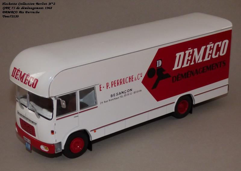 N°02 - Berliet GBK 75 Demenagement 1968 DEMECO Ets Perruche Hachet41