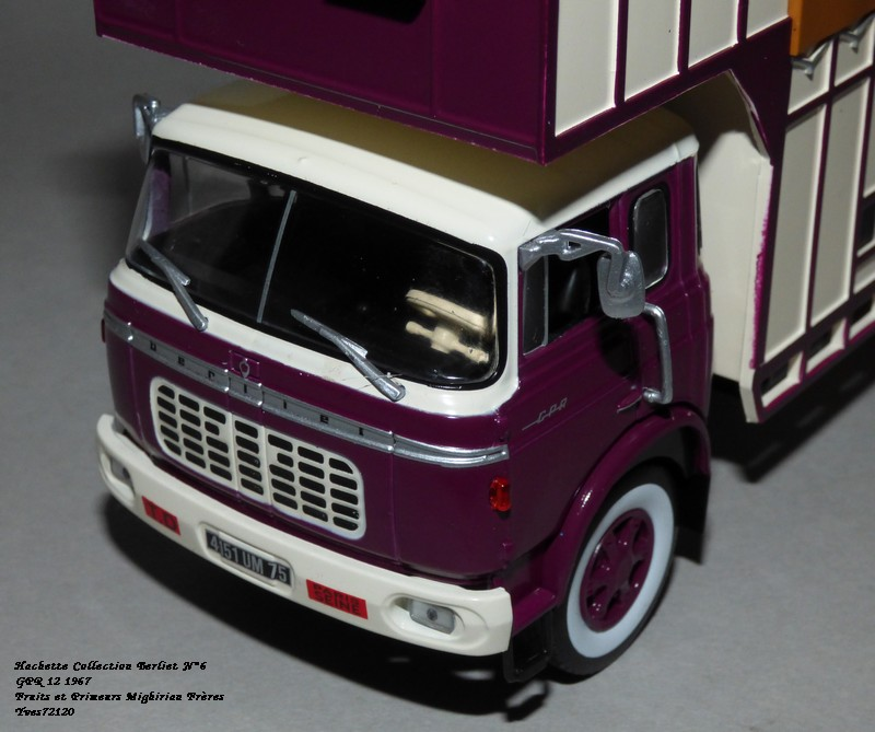 N°06 - Berliet GPR 12 1967 Fruits & Primeurs    Hachet82
