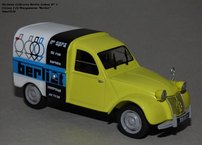 """N°00 - cadeau 4 Citroen 2cv Fourgonnette """"Berliet"""" Hachet85"""