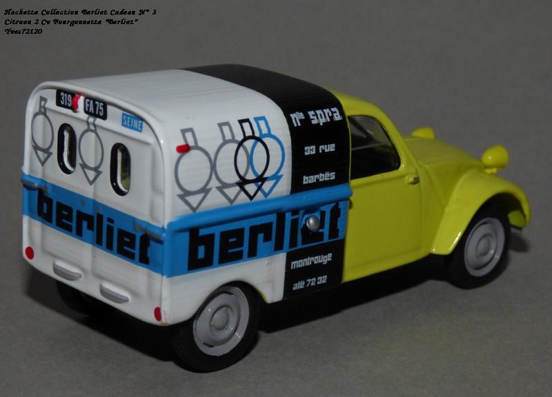 """N°00 - cadeau 4 Citroen 2cv Fourgonnette """"Berliet"""" Hachet86"""