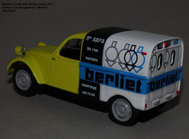 """N°00 - cadeau 4 Citroen 2cv Fourgonnette """"Berliet"""" Hachet87"""