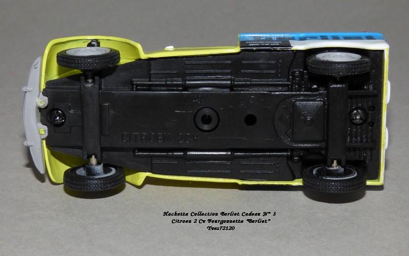 """N°00 - cadeau 4 Citroen 2cv Fourgonnette """"Berliet"""" Hachet89"""