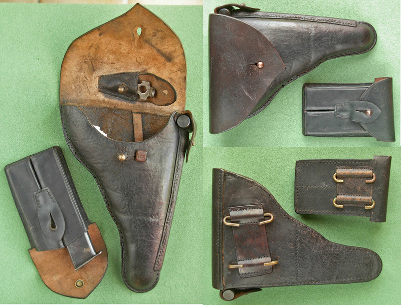 Les étuis et accessoires des pistolets Luger portugais, de 1906 à 1942. B10