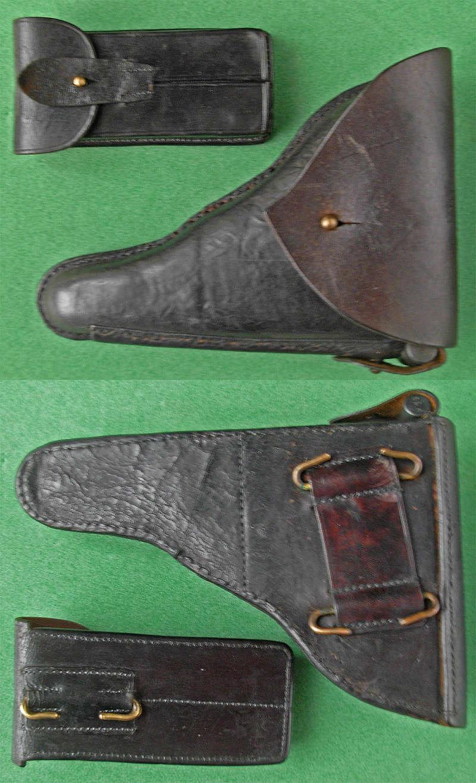 Les étuis et accessoires des pistolets Luger portugais, de 1906 à 1942. Bb10