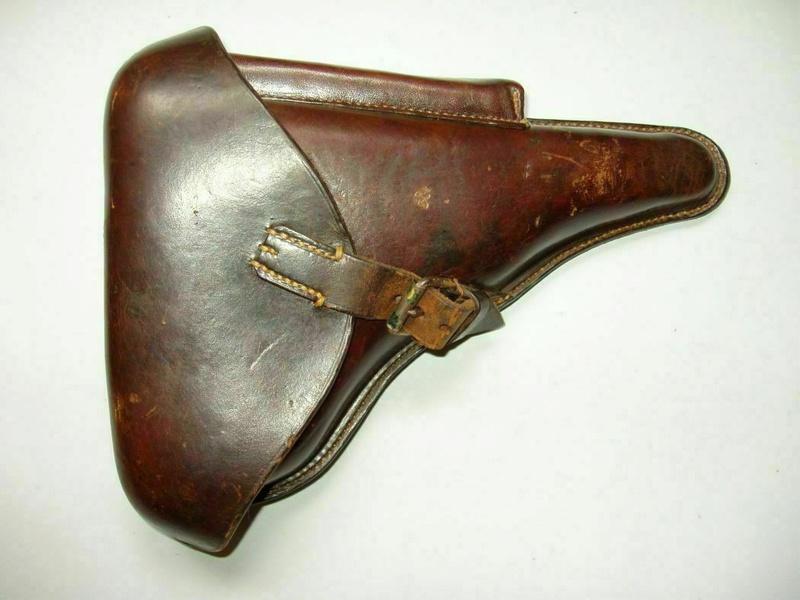 Des étuis de reconditionnement, pour P 08, 1909-1911. Holste23