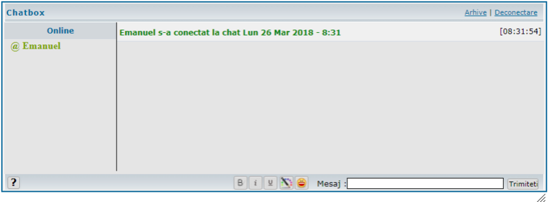Modificare iconite la chatbox Dupa10